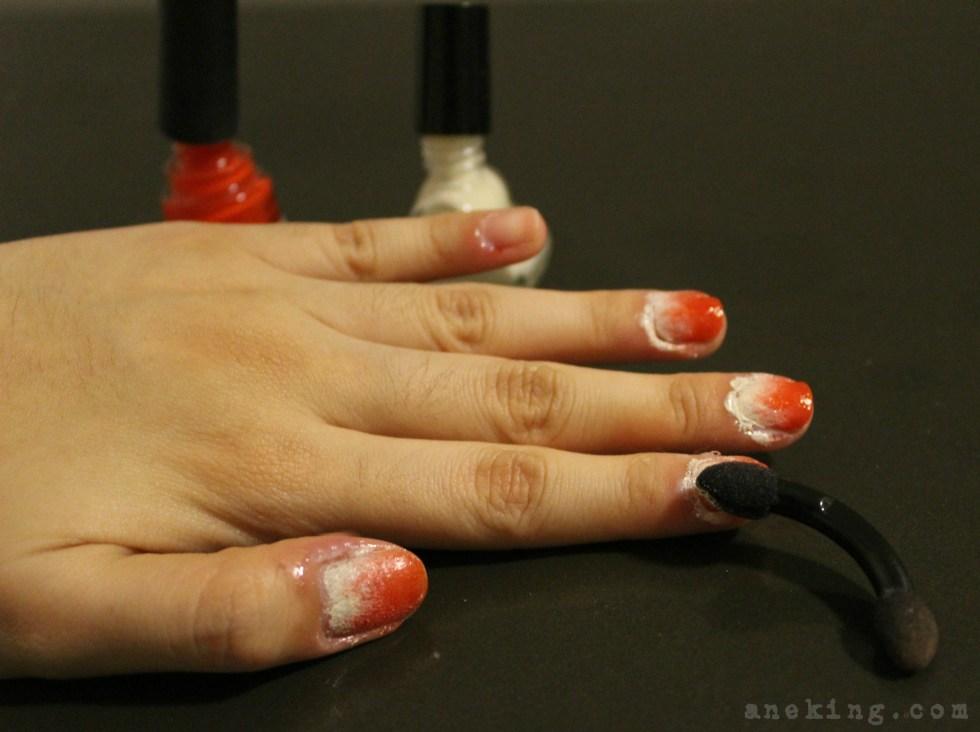 gradient nail polish step 5