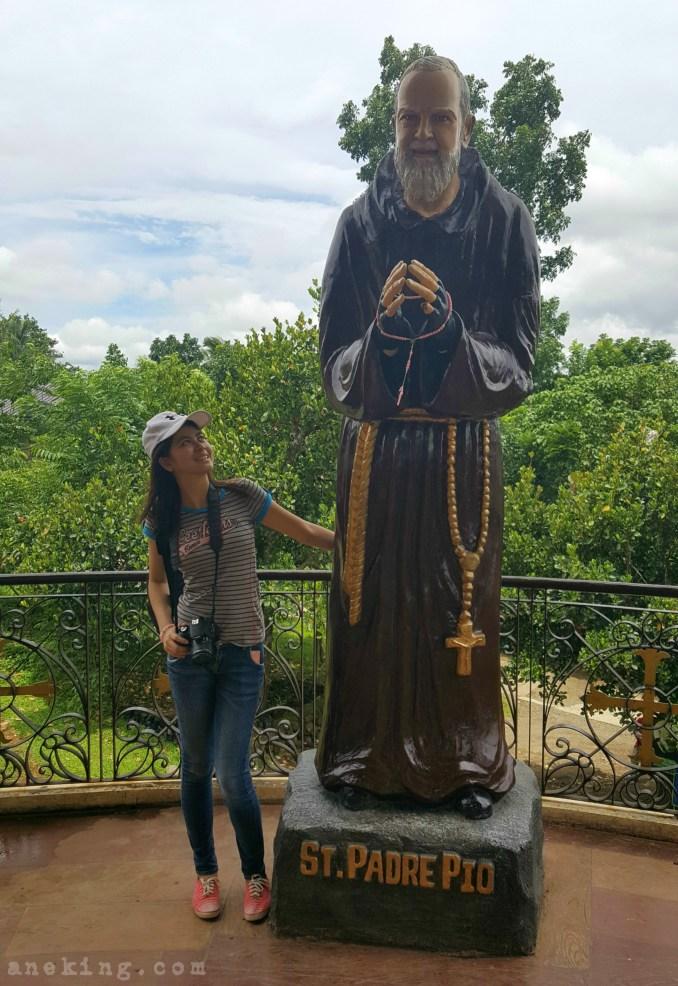 National Shrine of St Padre Pio back