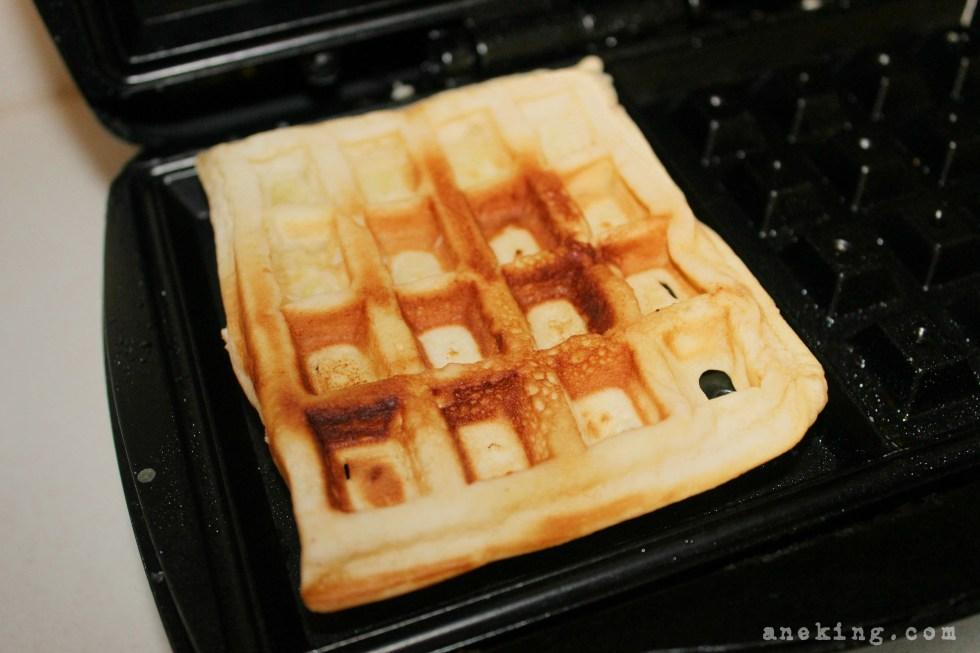 hazelnut waffle step 8