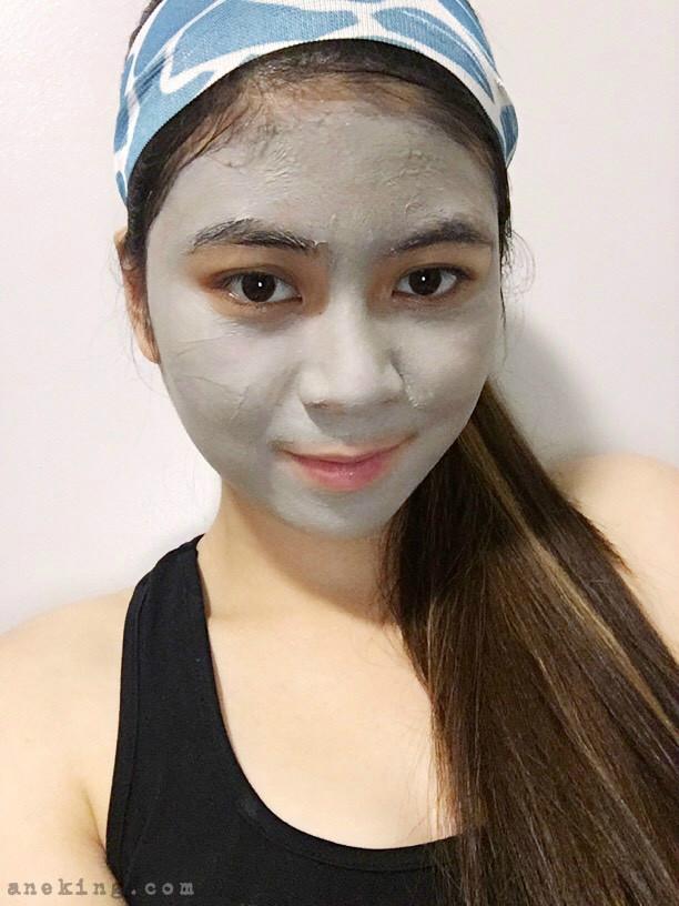 clay facial mask