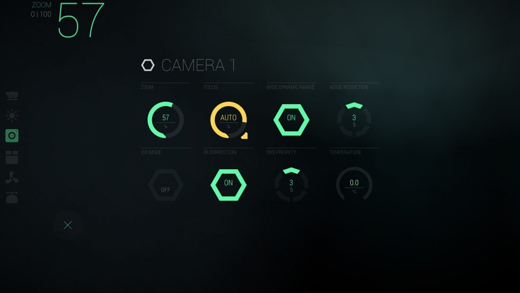 ROV UI Main Interface