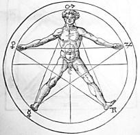 O Pentagram_e_o_homen_body_Agrippa