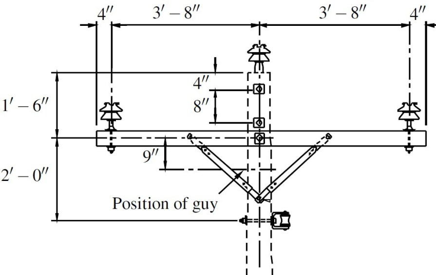 Example of Crossarm Construction