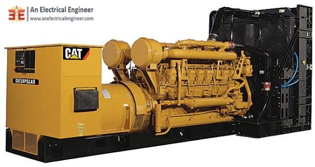 Caterpillar Diesel Engine Generator