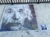 ChalkWalk: Albert Einstein