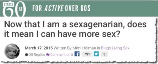 SAS Sexagenarian