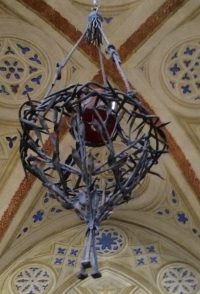 Crown of thorns in a cathedral, Vicenza