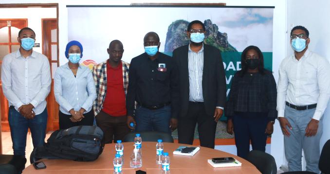 Cap-Vert: Mission De Benchmark – Visite Au Ministère de l'Industrie, du Commerce et des Énergies.