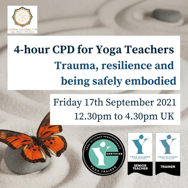 trauma-informed yoga, trauma-informed yoga teacher training
