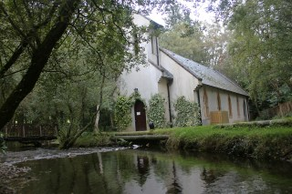 Macreddin chapel, Wicklow, Ireland