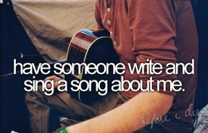 Bucket List - Personal Song
