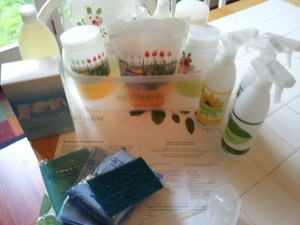Shaklee Household Cleaning Kit