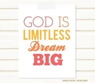 God is Limitless - Dream Big