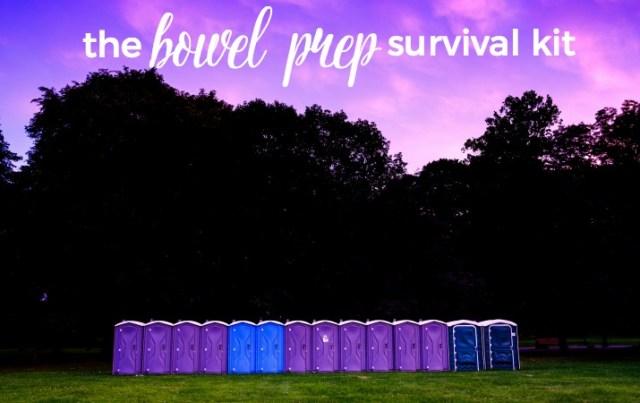 Bowel Prep Survival Kit