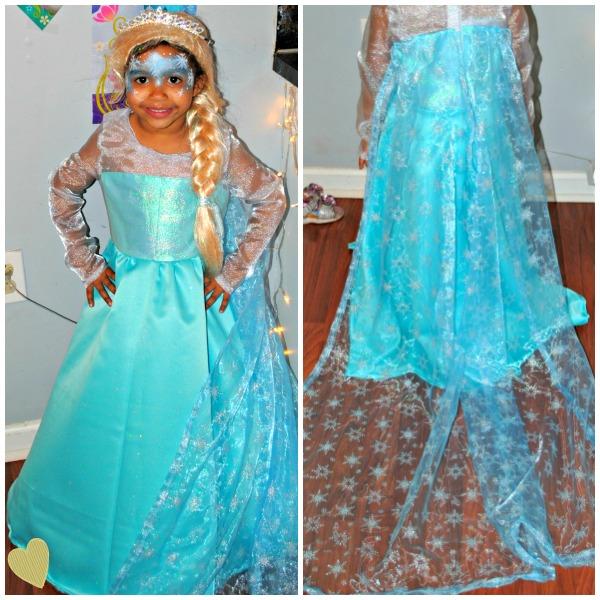 Custom Disney Elsa Dress