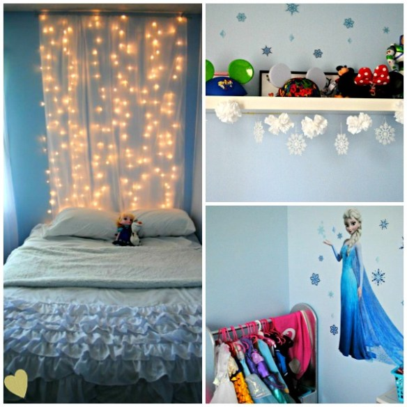 Frozen Themed Bedroom