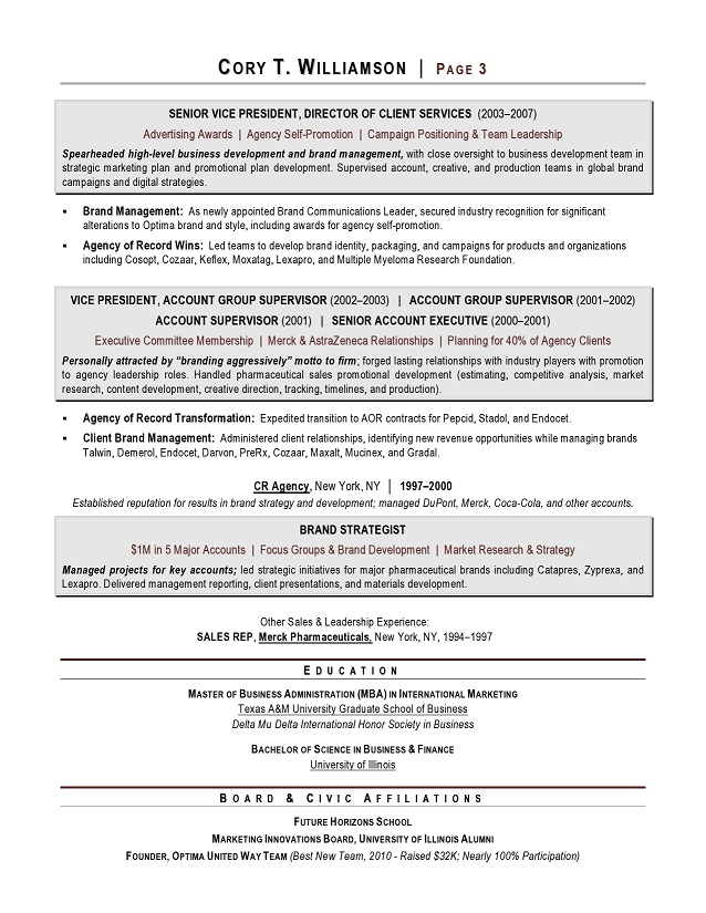 Sample Winning Resumes Resume Samples For All Professions And