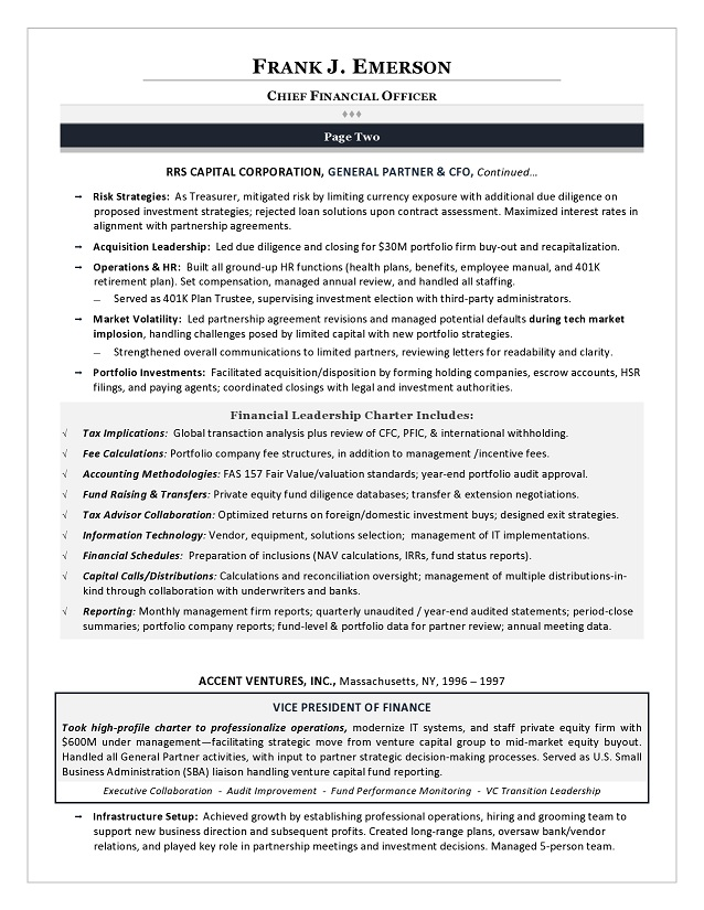 Cto Resume Examples Sample It Director Resume It Director Sample
