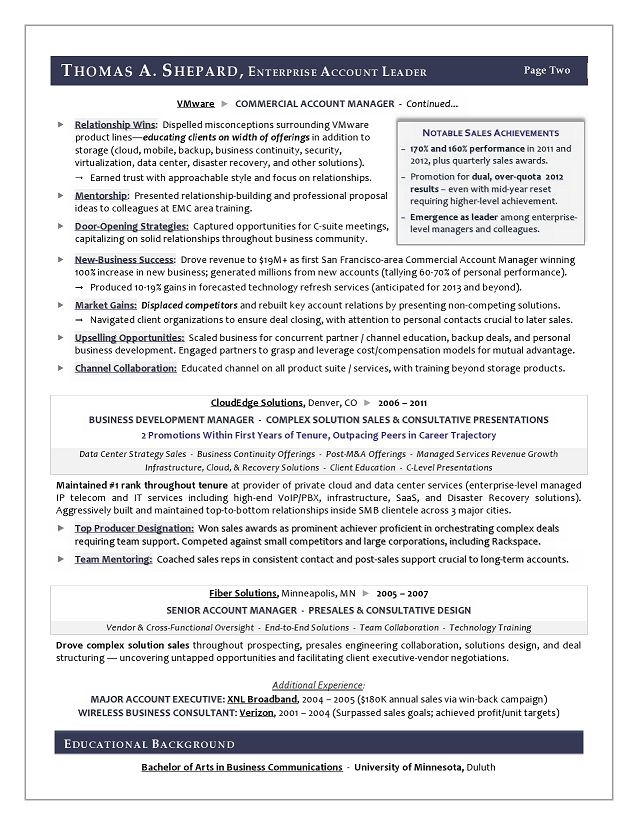 Sales Resume Examples Sample Sales Executive Resume Resume