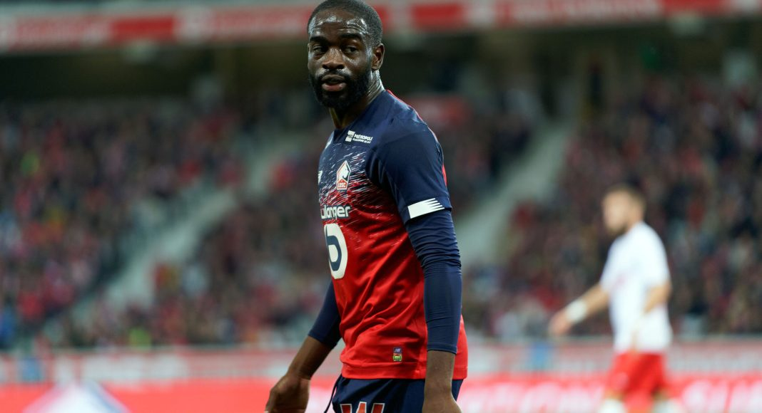 LILLE, FRANCE - OCTOBER 06: Lille's Jonathan Ikoné during the Ligue 1 match between Lille OSC and Nimes Olympique at Stade Pierre Mauroy on October 06, 2019 in Lille, France. (Photo by Sylvain Lefevre/Getty Images)
