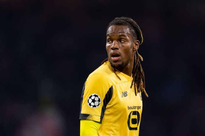 AMSTERDAM, NETHERLANDS - SEPTEMBER 17: Renato Sanches of OSC Lille looks on during the UEFA Champions League group H match between AFC Ajax and Lille OSC at Amsterdam Arena on September 17, 2019 in Amsterdam, Netherlands. (Photo by TF-Images/Getty Images)