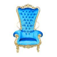 Princess Gold High Chair | Indonesian Furniture ...