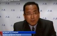 Roberto Kasai representa APAFISP em entrevista à Record TV