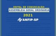 Edital de convocação para Assembleia  Geral Ordinária (Eleições da ANFIP-SP)
