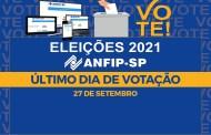 Eleições ANFIP-SP 2021: último dia para votar