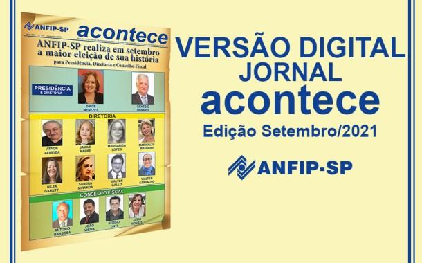 Jornal ACONTECE traz como destaque Eleições da ANFIP-SP