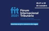Concorra a uma das 20 vagas para participar presencialmente do FIT 2021, em SP