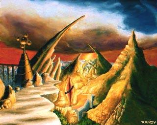 Fantasy paintings by Fabio Ciucci