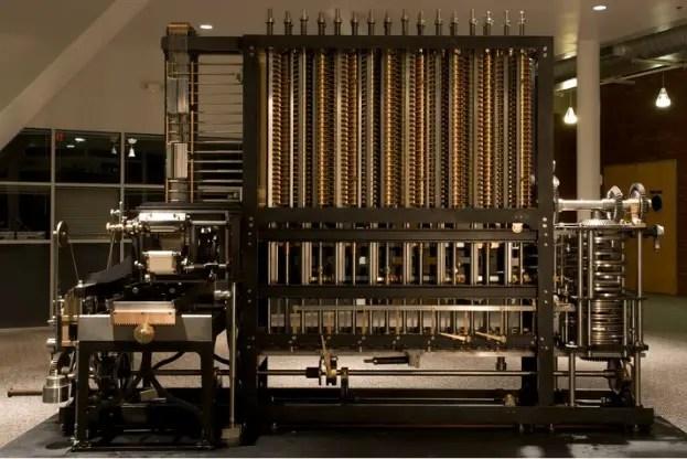 Máquina analítica de Babbage.