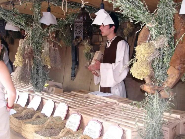 El mercado medieval de Alcalá