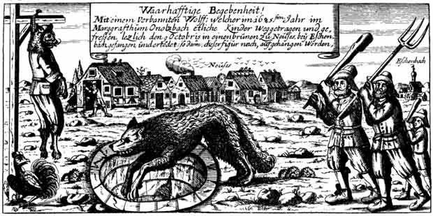 El hombre lobo de Ansbach
