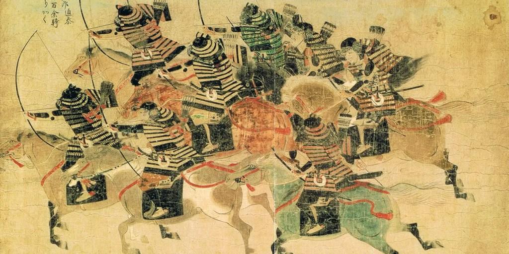 Ilustración de las invasiones mongoles.