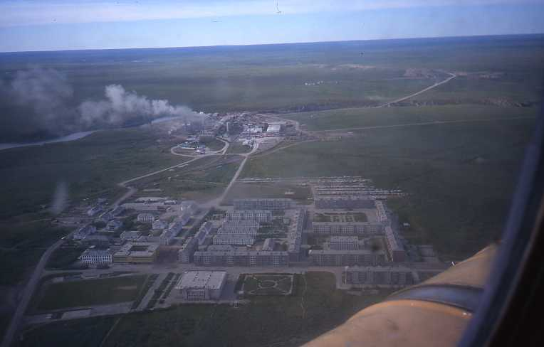 Fotografía aérea de Vorkuta, la prisión para genios.