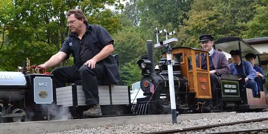 Tren miniatura de Abbeydale.