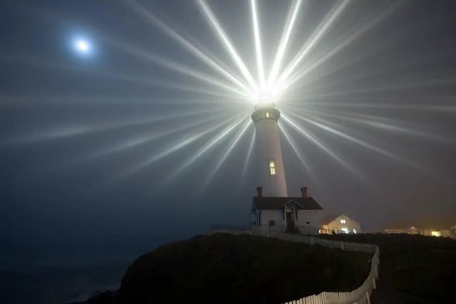 Fotografía de la Estrella de Pigeon Point.