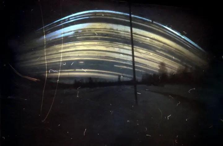Fotografía de una solarigrafía.