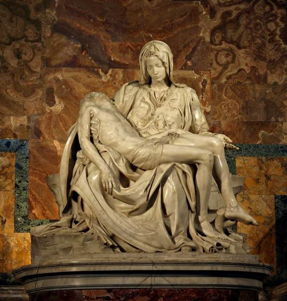 Fotografía de la Pietà.