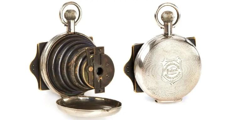 La tecnología de los espías victorianos, de relojes cámaras a mini pistolas