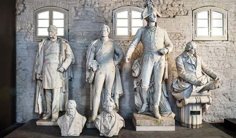 Fotografía de las estatuas de Spandau.