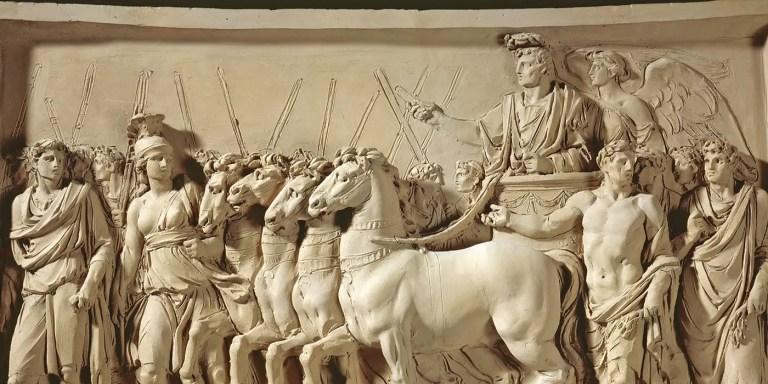 Roma y los triunfos y ovaciones a los generales romanos victoriosos