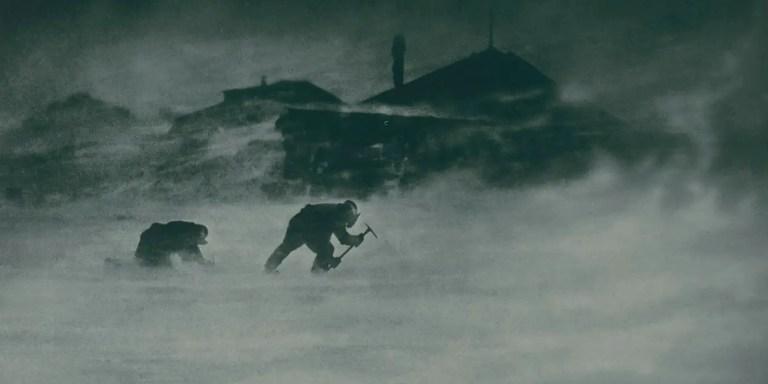 Las tormentas Antárticas de condición 3, las peores tormentas del mundo
