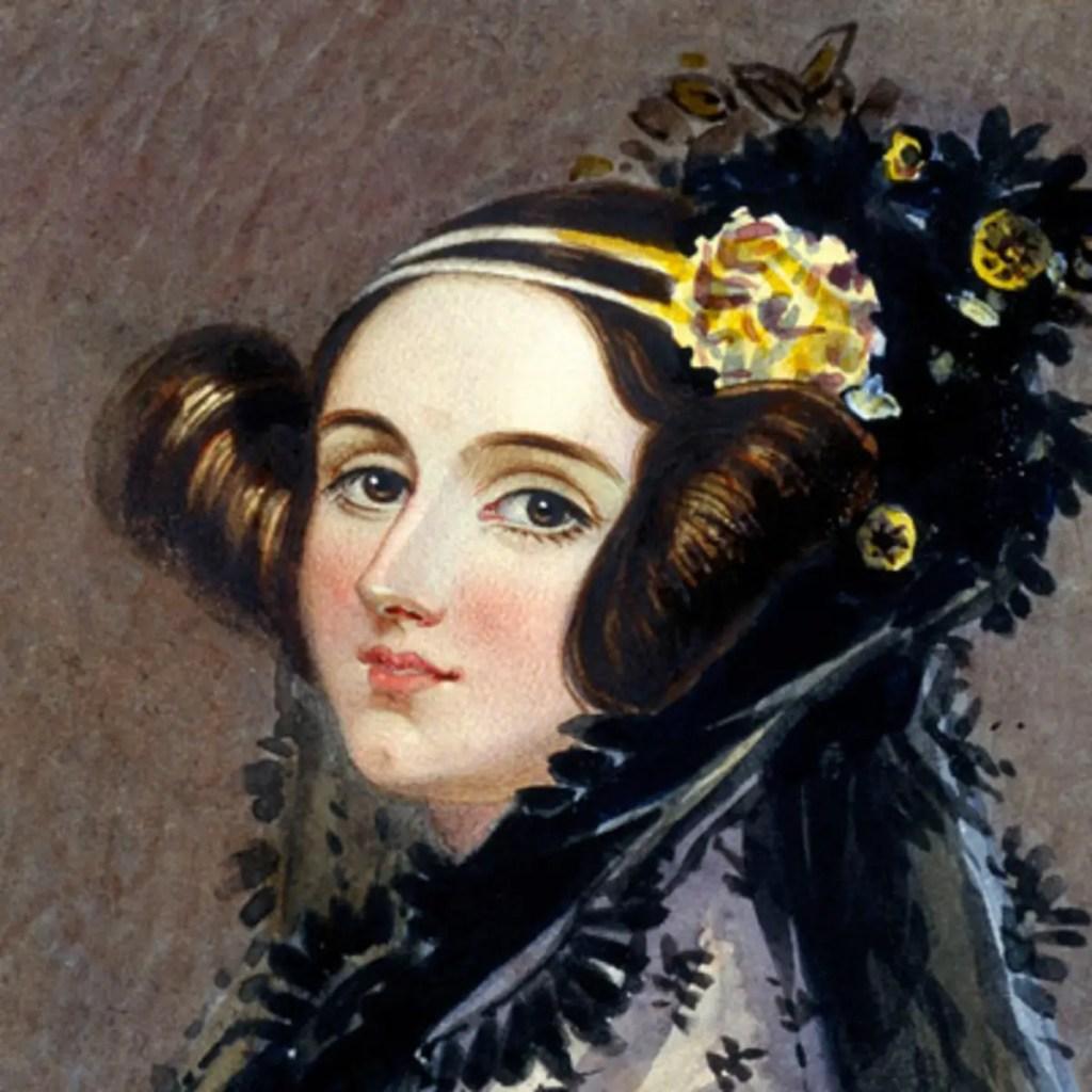 Pintura de Ada Lovelace