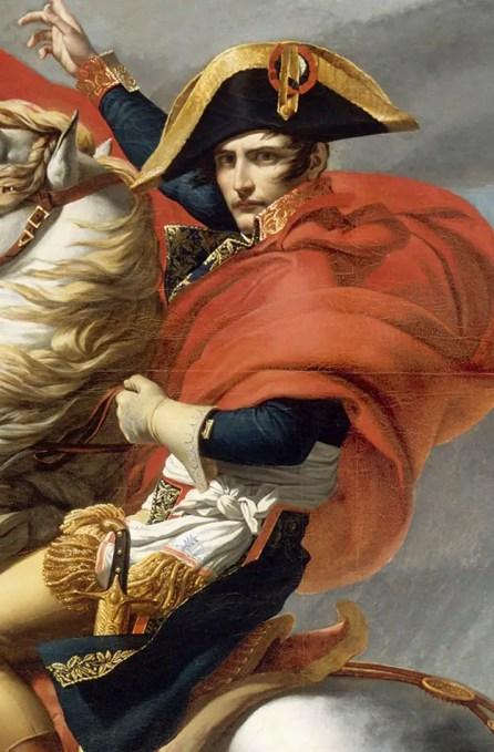 Pintura clásica de Napoleón.