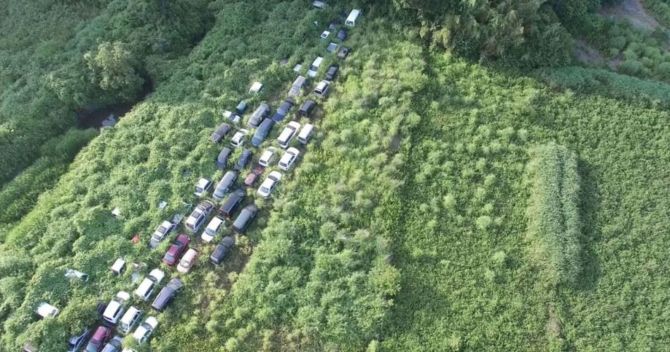 Fotografía de las áreas cercanas a Fukushima