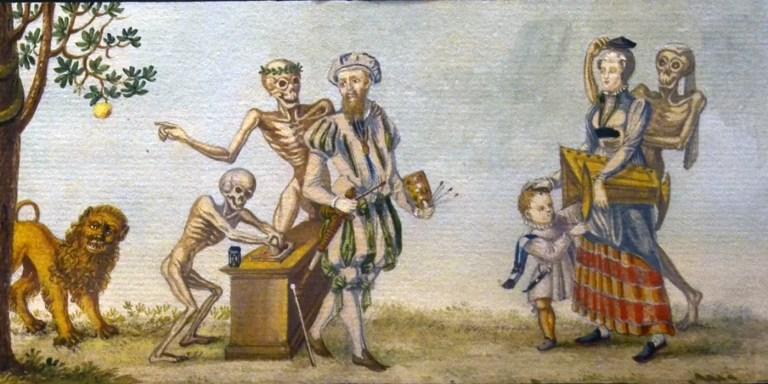 Totentanz, la Danza Macabra. Los esqueletos danzantes de la peste negra