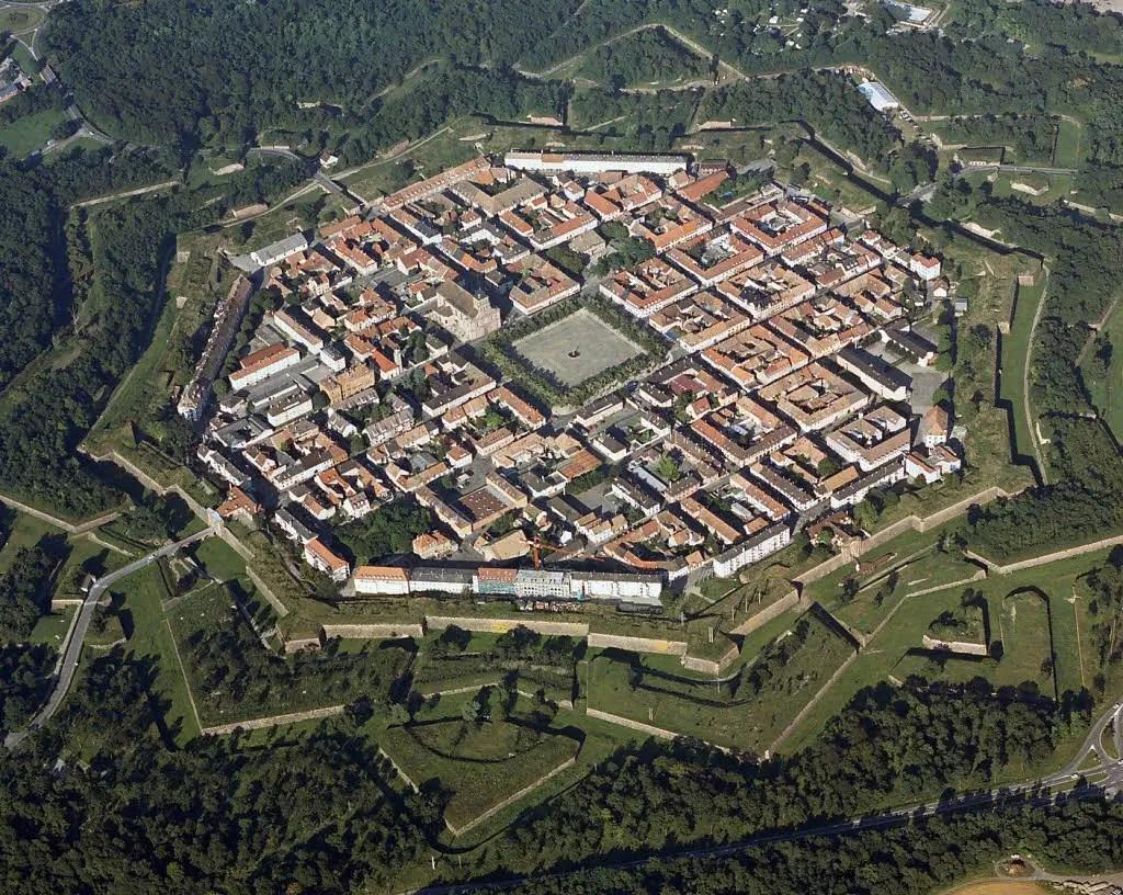 Vista aérea general de Palmanova